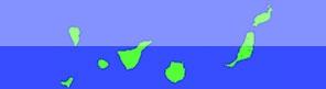 Mapas de las islas canarias